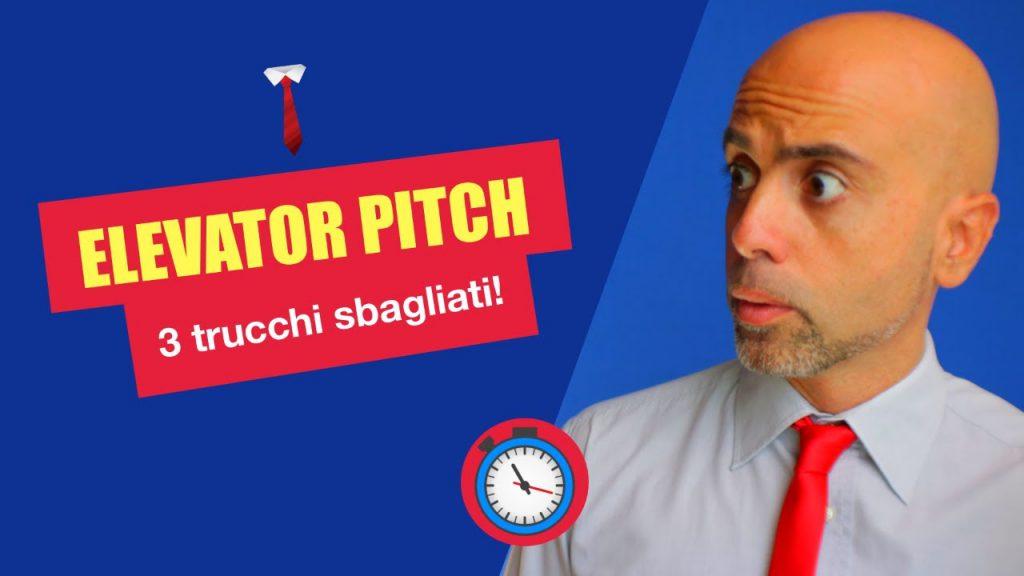 Elevator pitch – 3 trucchi efficaci per sbagliare