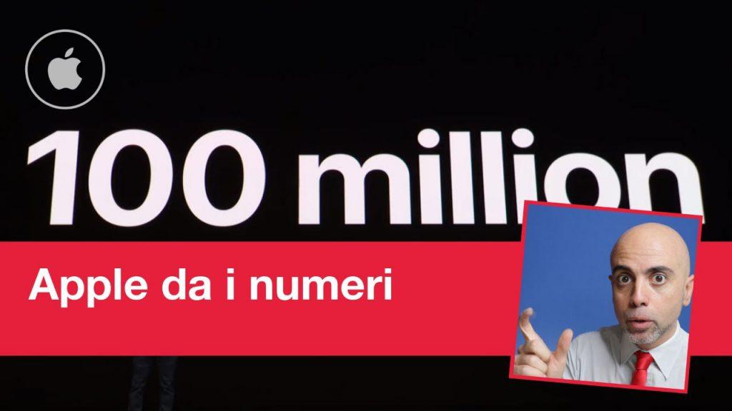 Presentazione Apple: 100 Million seduce i media