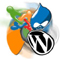 CMS Joomla wordpress